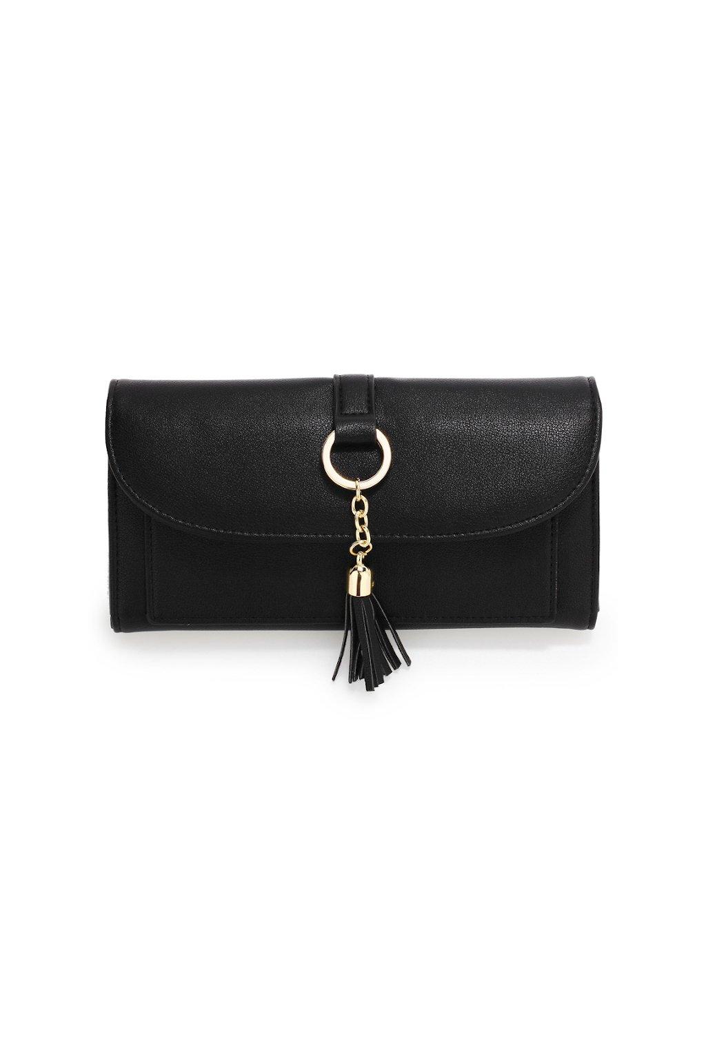 Elegantní černá peněženka Anna Grace