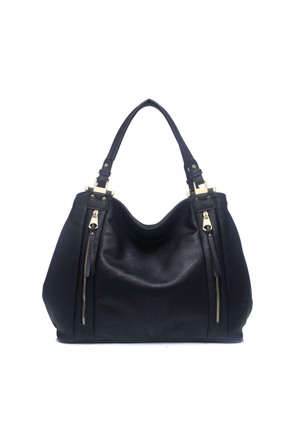 Černá kabelka Moda Handbag na rameno 8261