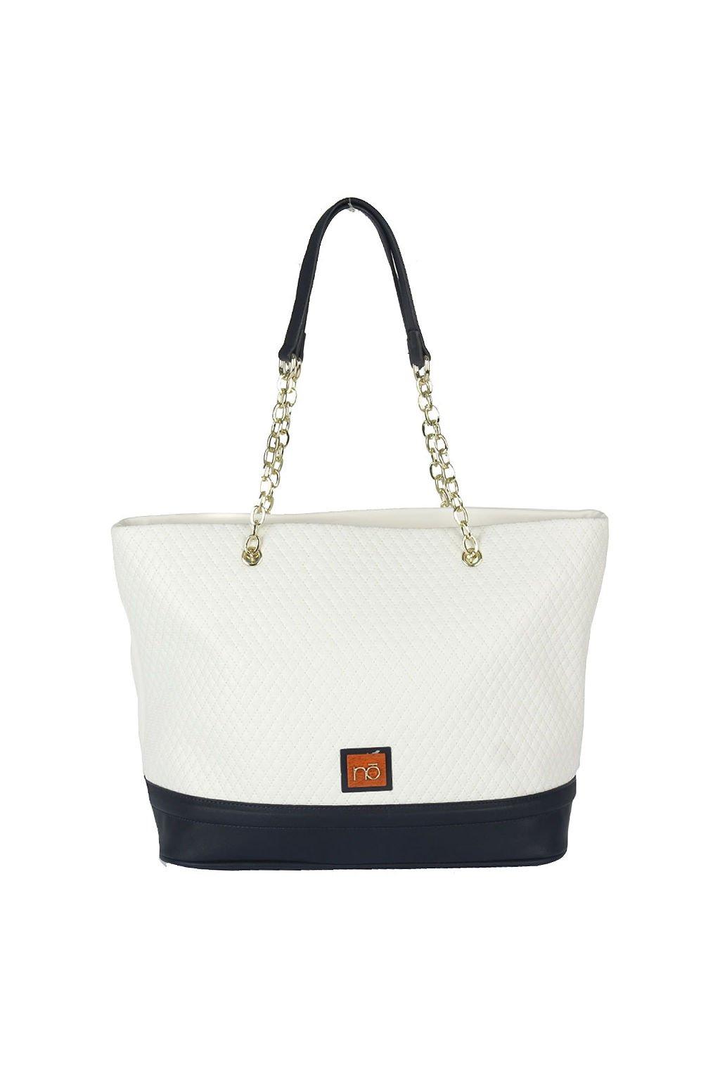 Bílá prošívaná kabelka Nobo NOB 0630 W17