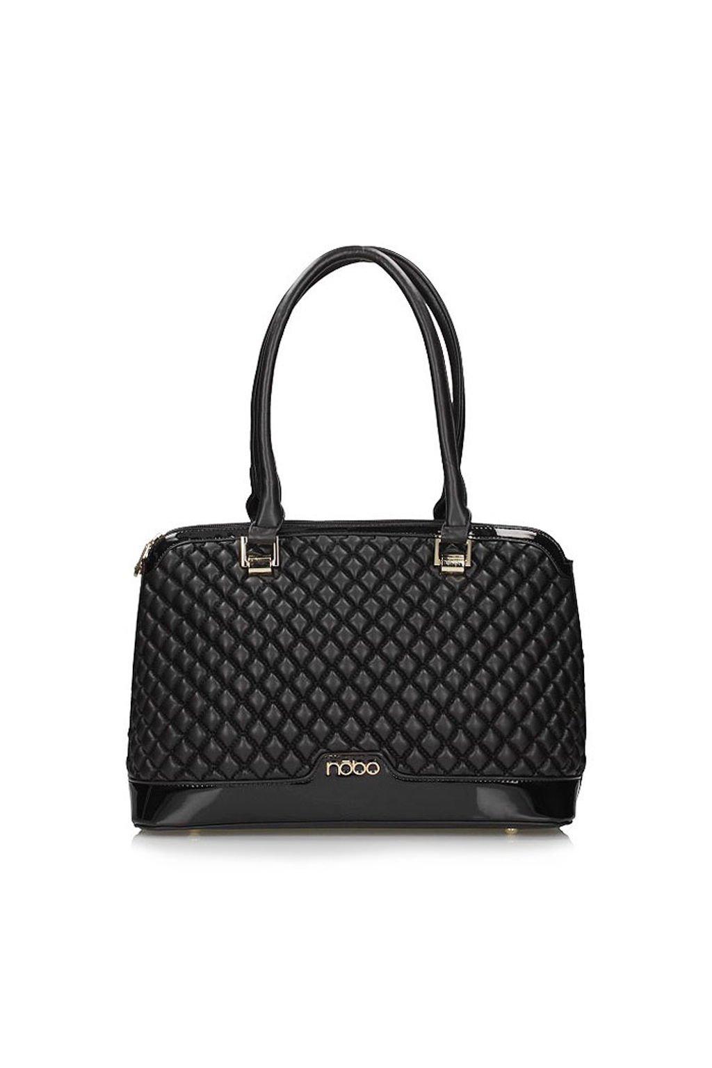 Luxusní lakovaná kabelka Nobo na rameno NOB C1780 W17