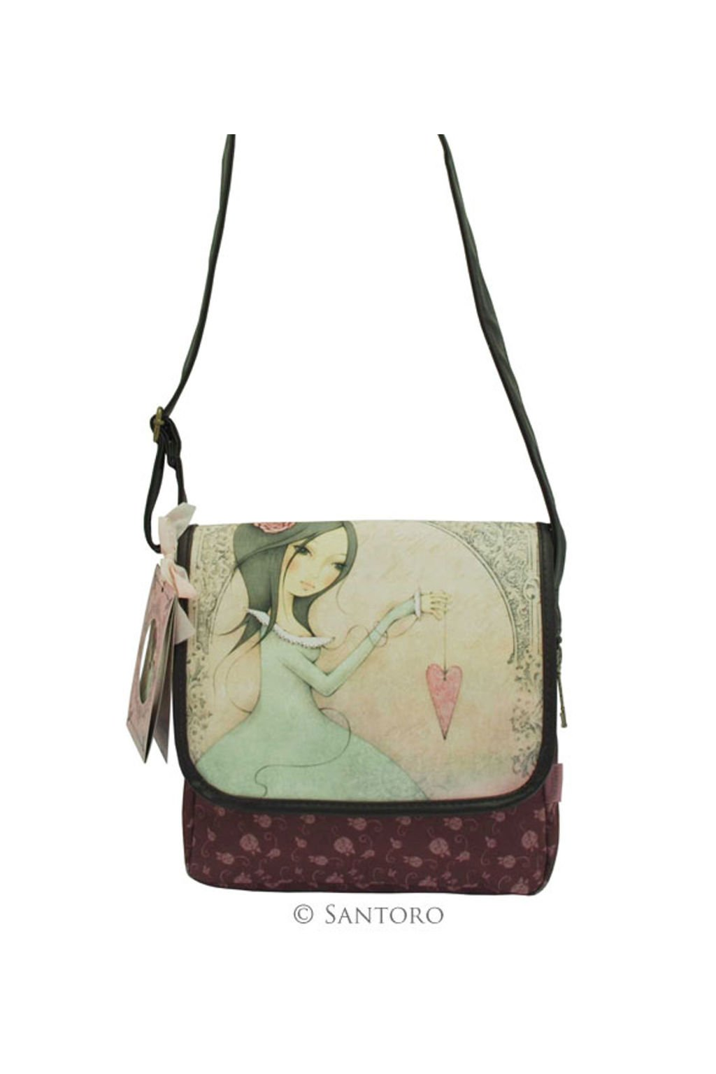 Crossbody kabelka Santoro London Mirabelle All for Love 471EC01