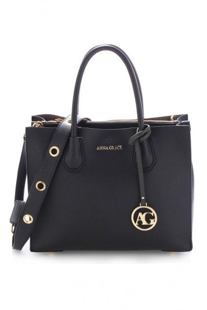 Elegantní černá kabelka Anna Grace