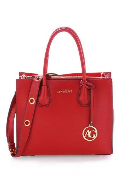 Elegantní červená kabelka Anna Grace