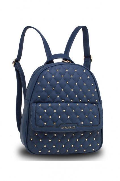 Moderní modrý batoh Anna Grace