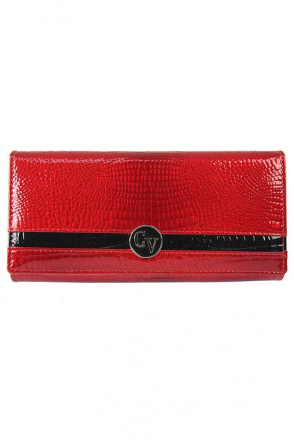 Dámská červená peněženka Cavaldi z pravé kůže