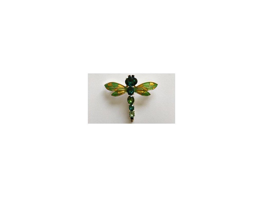 libellula verde