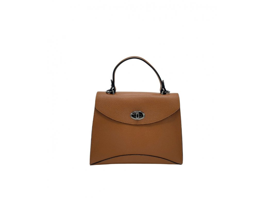 Kožená kabelka do ruky Zoe cuoio