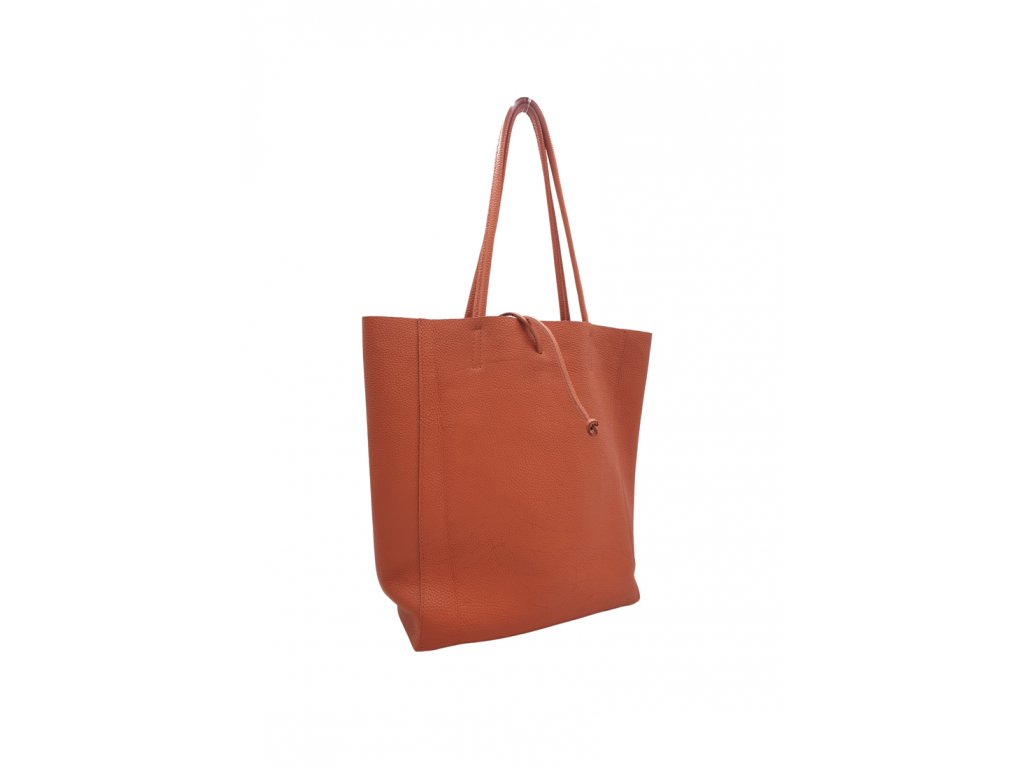 Kožená taška přes rameno Inna 1 lososová
