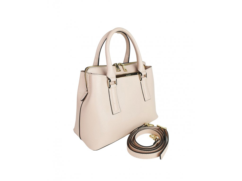 Dámská italská kožená kabelka RIPANI DIVINA pudrová