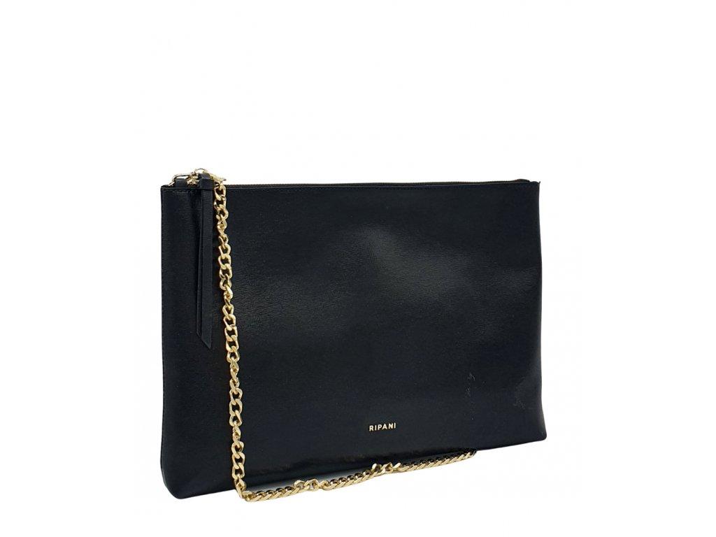 Kožená kabelka Ripani MORELLA černá