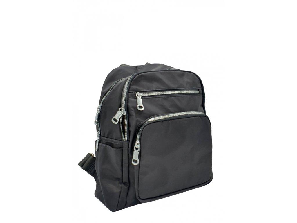 Látkový batoh šedý