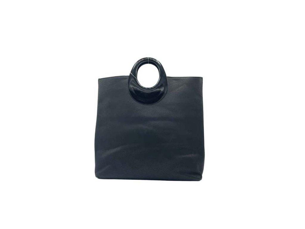 Kabelka z ekokůže černá