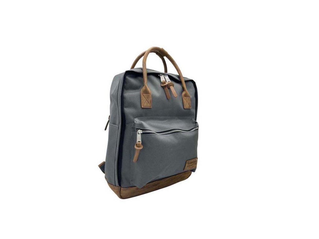 Látkový batoh Enrico Benetti šedý