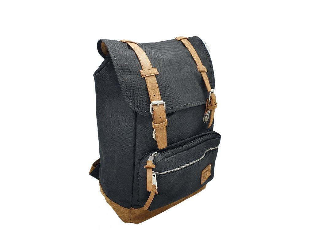 Látkový batoh Enrico Benetti černý