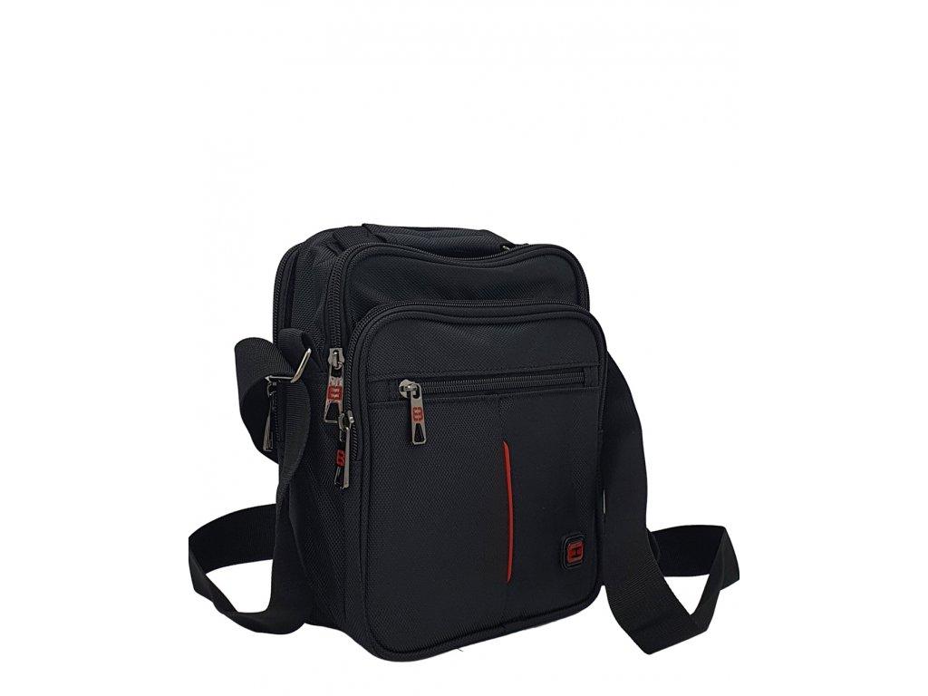 Pánská látková taška Enrico Benetti černá