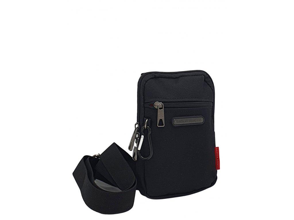 Pánská taška na doklady Enrico Benetti černá
