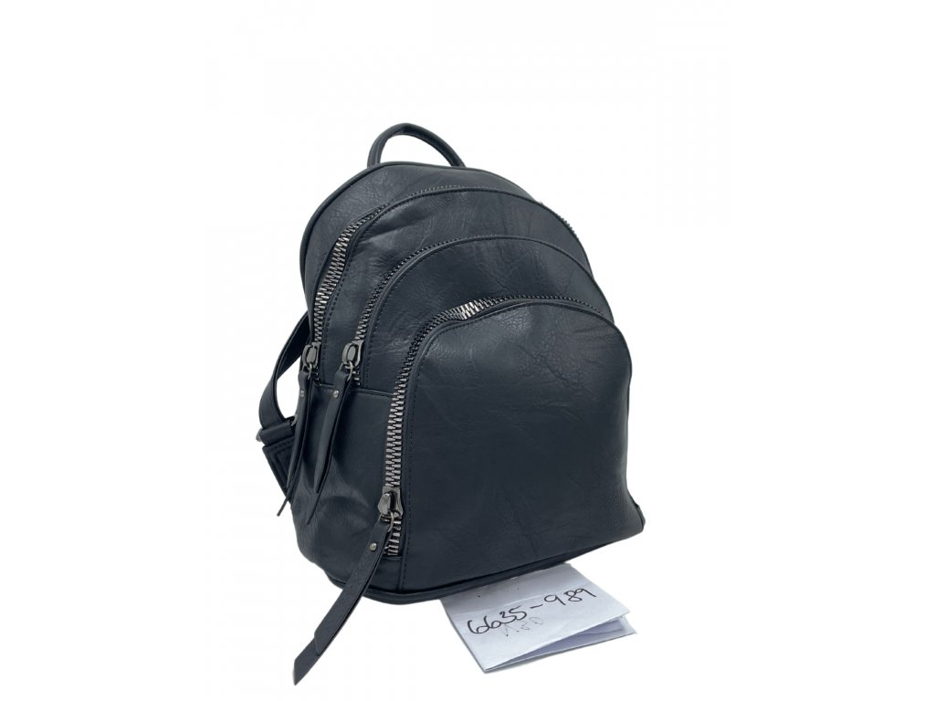 Batoh z ekokůže černý