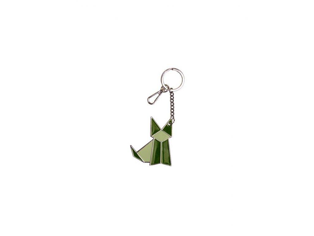 Velká klíčenka VERDE OLIVA