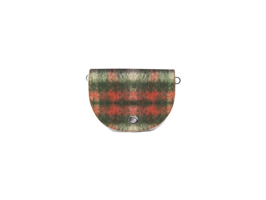 Vnitřní taška s klopou J-HOOP LANA TARTAN VERDE