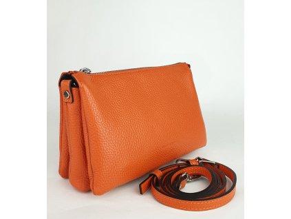 7086 oj 012 damska italska kozena kabelka ripani 7086 oj 012 easy bag tmava oranzova dolaro 1171x1300 0