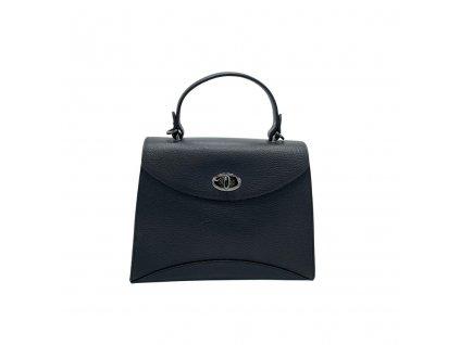 Kožená kabelka do ruky Zoe černá