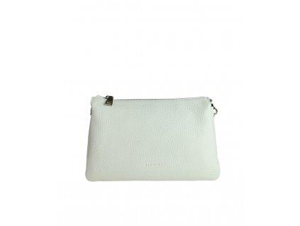 Dámská italská kožená kabelka RIPANI EASY BAG bílá