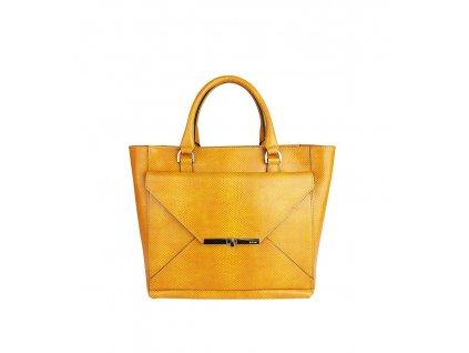 Kožená kabelka Ripani MITO žlutá