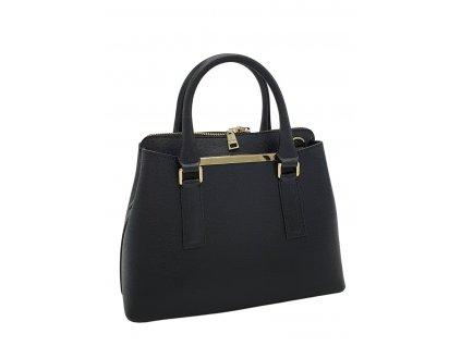 Dámská italská kožená kabelka RIPANI DIVINA černá