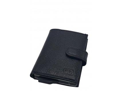 Kožené pouzdro na kreditní karty 17201 černé