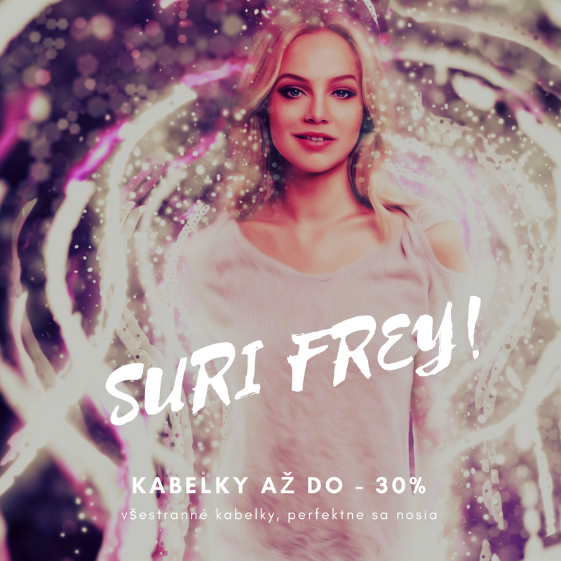 Výpredaj Suri Frey