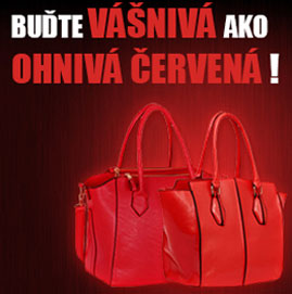 Červené Dámské kabelky