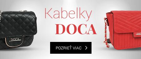 Značkové kabelky DOCA