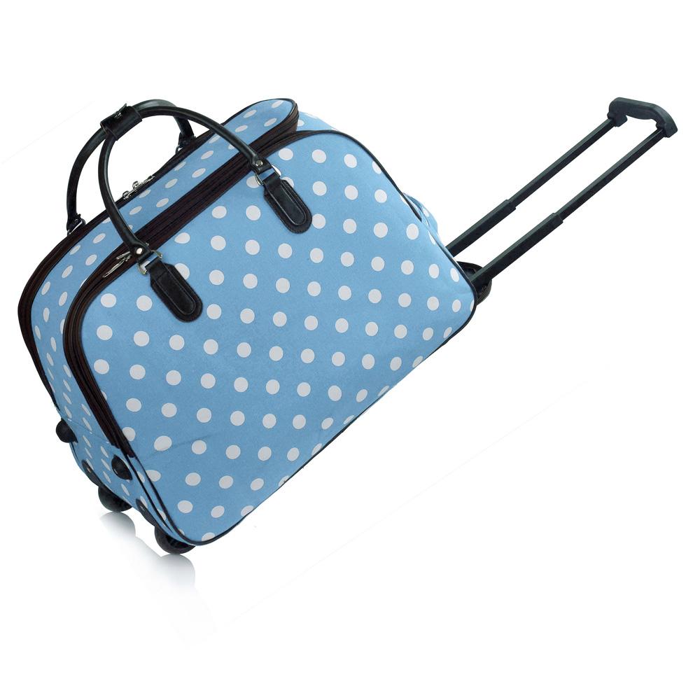 cestovná taška DOTS, kufor a cestovná taška 2v1