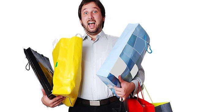 pánske nákupy