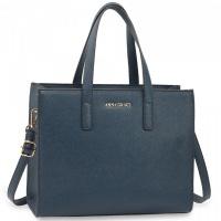 Modrá kabelka Anna Grace do ruky a na rameno