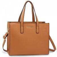 Hnedá kabelka Anna Grace do ruky a na rameno
