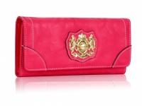 Peňaženka v štýlovej ružovej, krásne zdobená