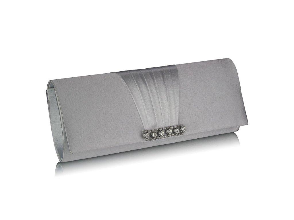 Spoločenská kabelka Cry - strieborná  0f94035f1da