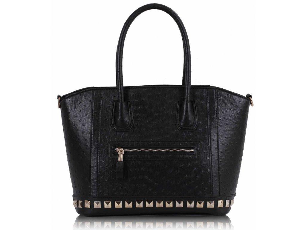 Dámska kabelka Ostrich - čierna