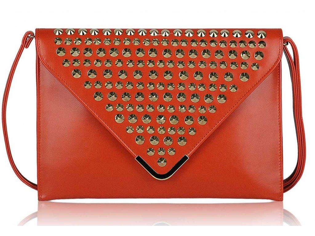 Listová kabelka Slim - oranžová