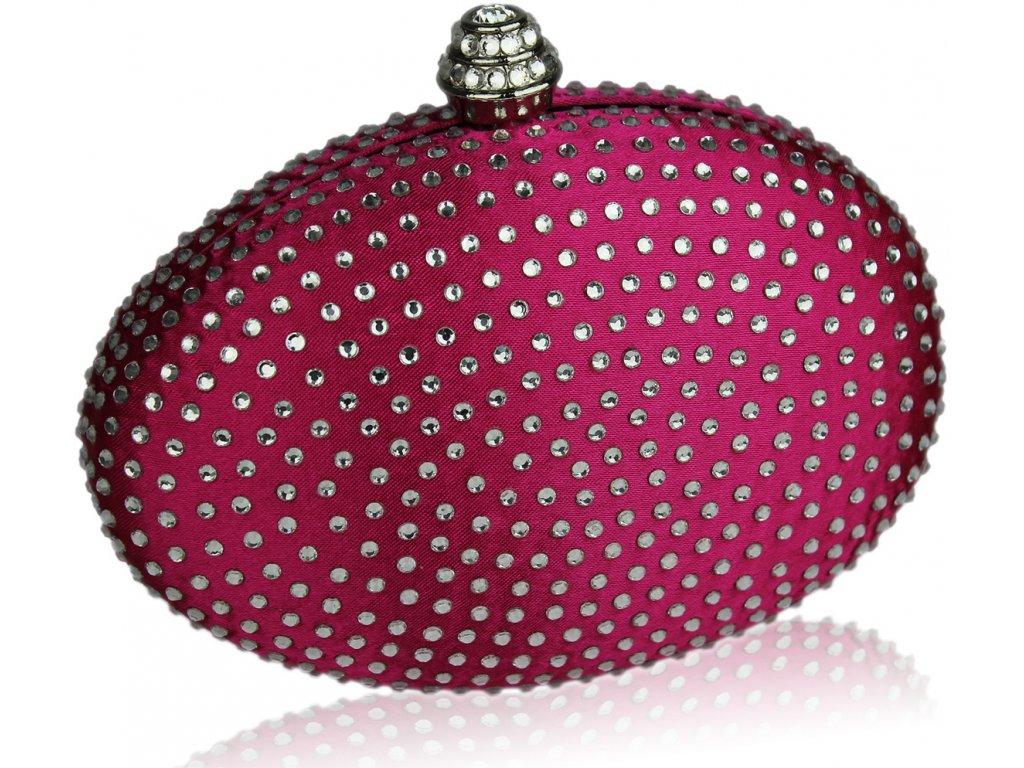 Spoločenská kabelka Diamant - ružová