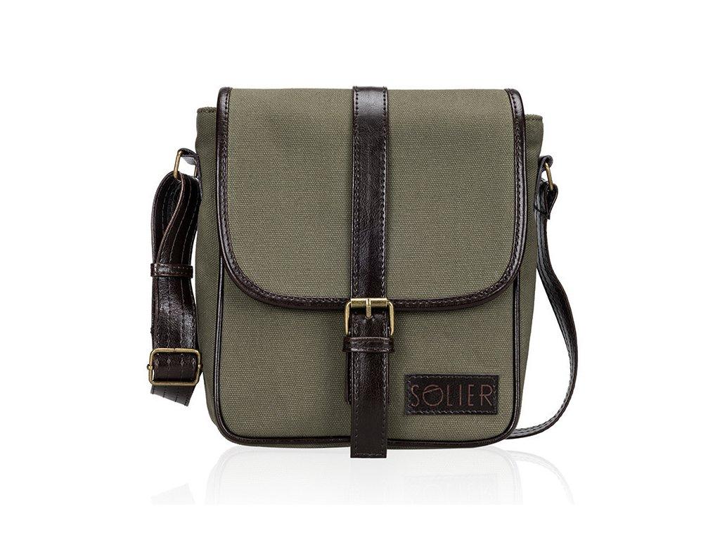 eng pl Genuine leaher shoulder bag SL08 HIKE 18832 1