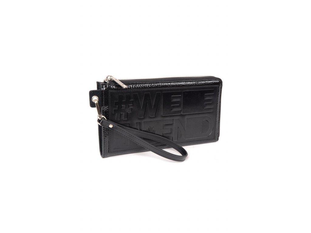 Maxi peňaženka DOCA 64790 - čierna