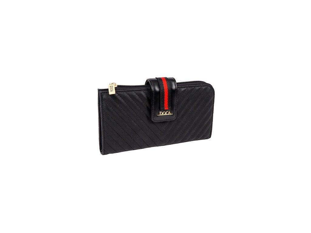 Peňaženka DOCA 64794 - čierna