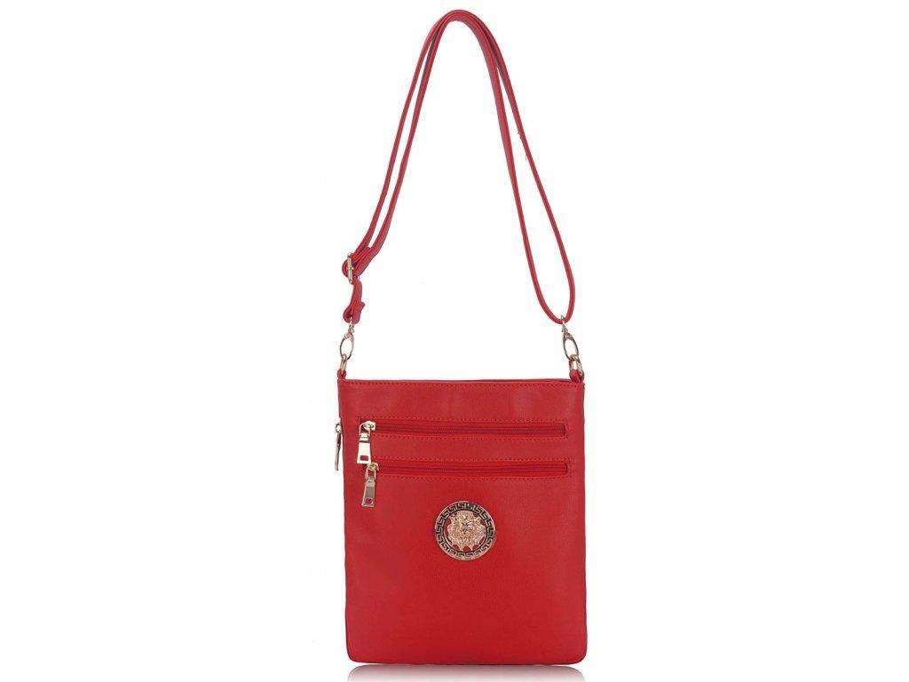 Dámska crossbody kabelka Reddy - červená