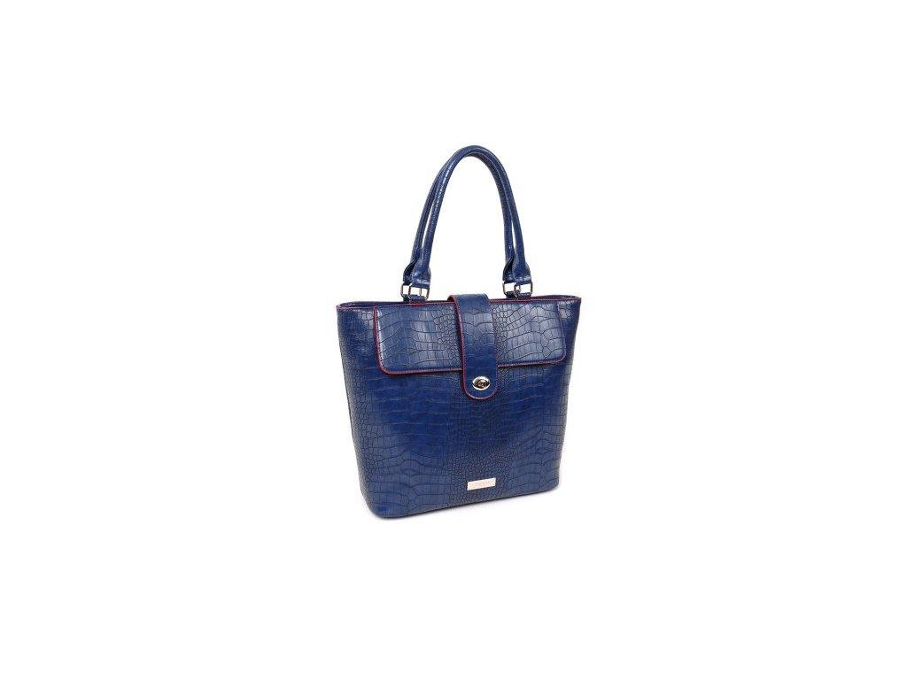 Kabelka DOCA 13053 - modrá