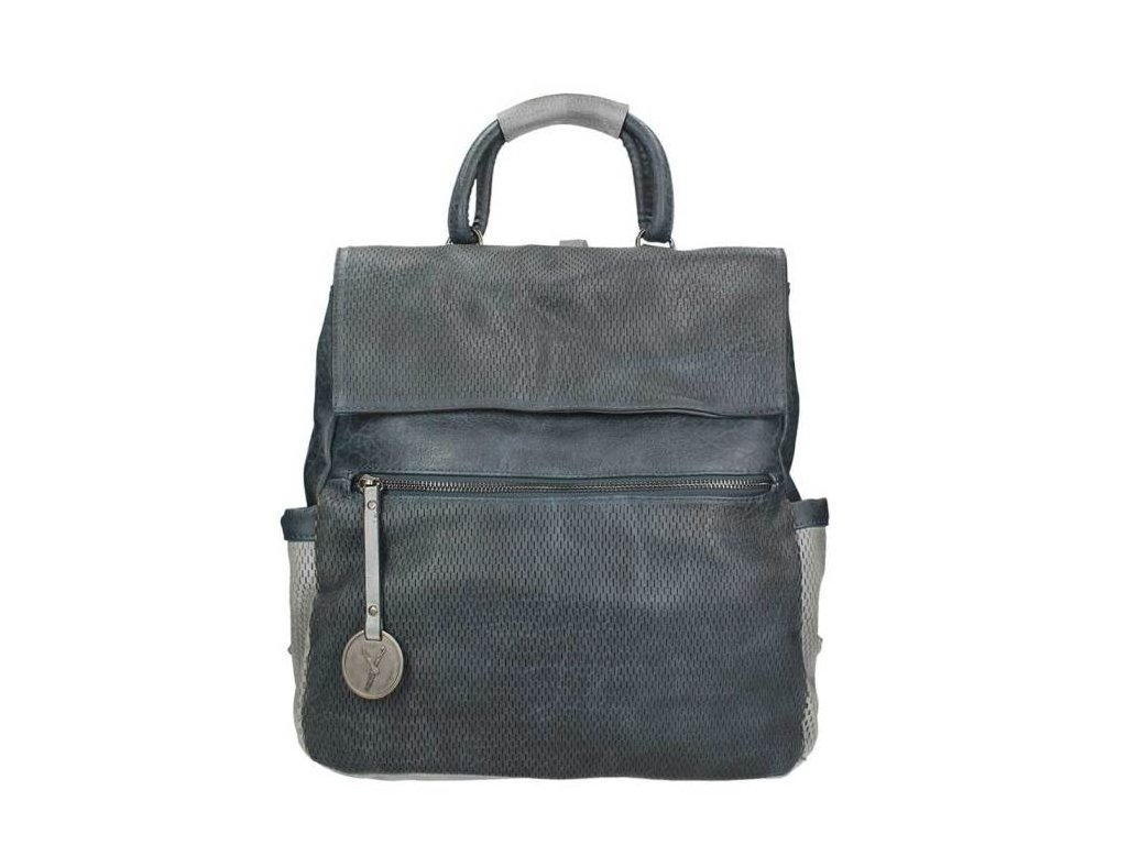 f044612671 Dámsky ruksak SURI FREY - modro sivý