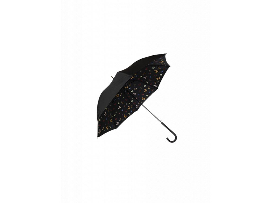 Dámsky dáždnik TOM&EVA SA12021 čierny kabelky.sk