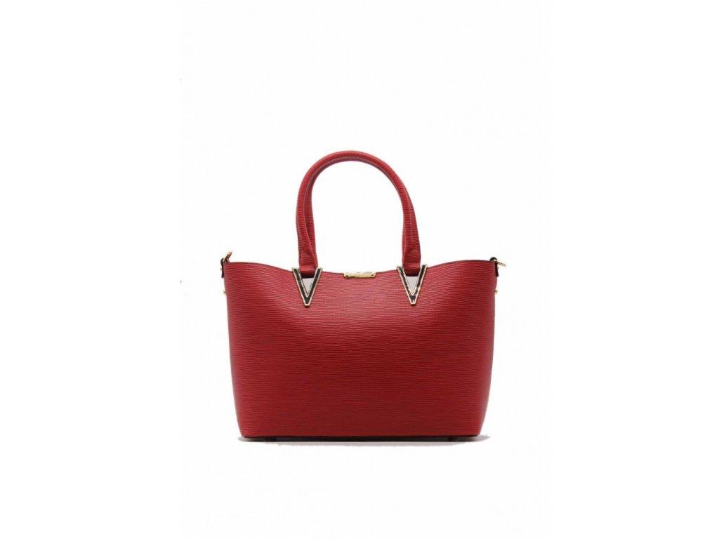 f77688557e Dámska kabelka TOM EVA Red Rose 6406 červená 1 kabelky.sk
