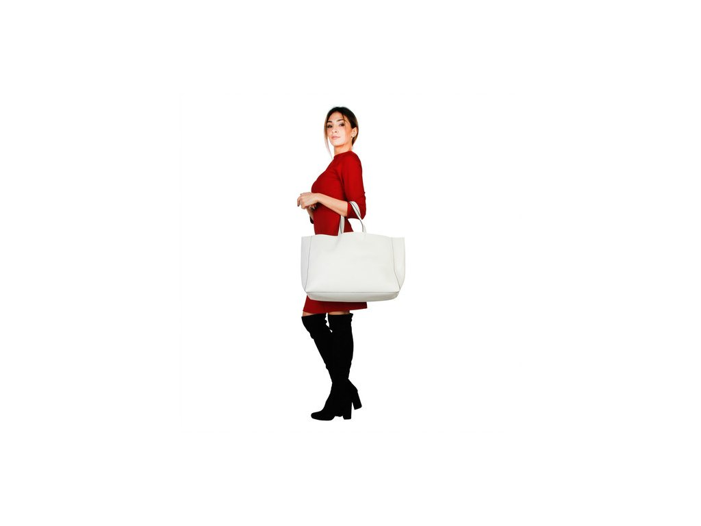 Dámska kabelka made in italia lucrezia panna biela 1 kabelky.sk